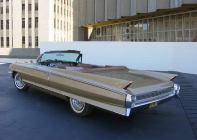 Cadillac Eldorado 1962 Cabriolet Gold AS 1
