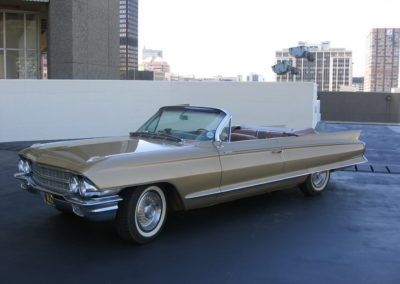Cadillac Eldorado 1962 Cabriolet Gold AS 2