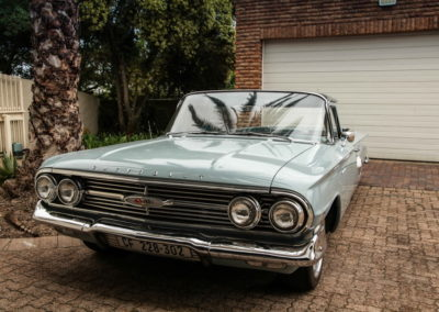 Chev Elcamino 1960 bakkie Blue AS-1