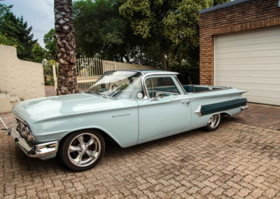 Chev Elcamino 1960 bakkie Blue AS-3