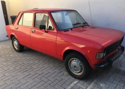 Fiat 1971 Red AS-1