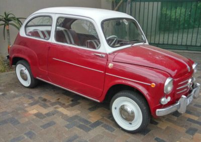 Fiat 600 1960 Red AS 1