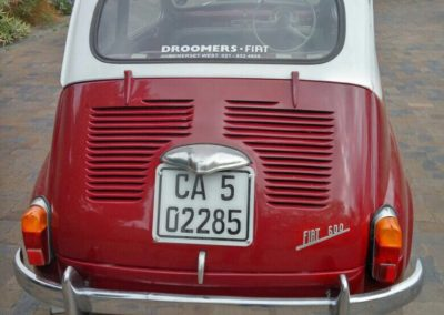 Fiat 600 1960 Red AS 2
