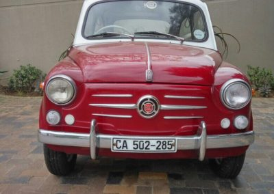 Fiat 600 1960 Red AS 3