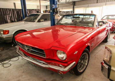 Ford Mustang Convertible 1965 Red AS-3