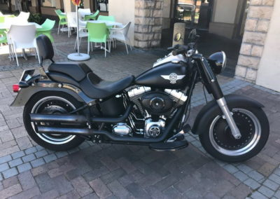 Harley Davidson Fat Boy Special Black AS-2