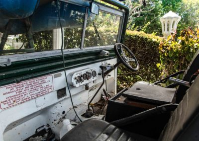 Land Rover Series1 1950 White Crafty AS 2