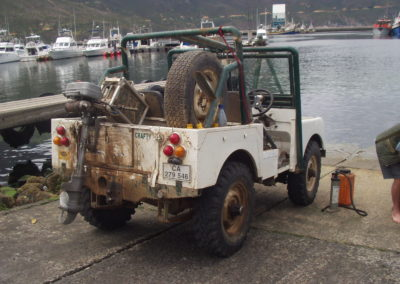 Land Rover Series1 1950 White Crafty AS 4