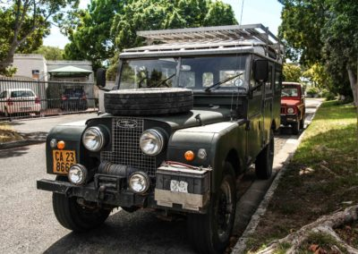 "Land Rover Series 1 ""Travelling Circus"" 1958, LWB"