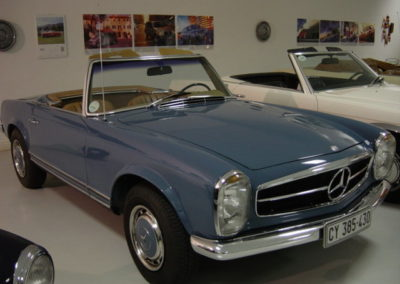 Mercedes 280SL 1968 Cabriolet Blue AS