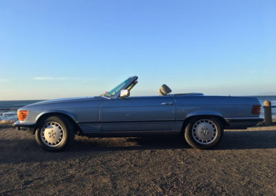 Mercedes 300SL 1984 Cabriolet Metallic Blue AS-1