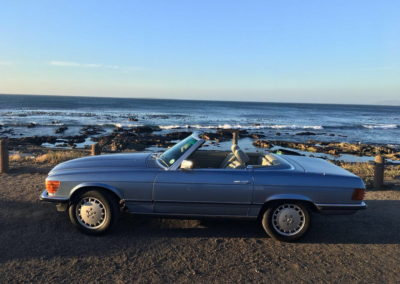 Mercedes 300SL 1984 Cabriolet Metallic Blue AS-2