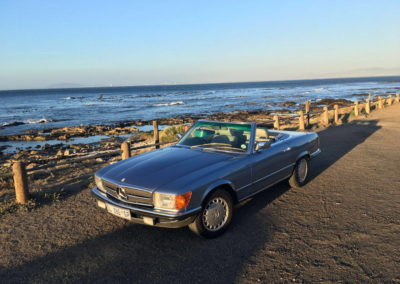 Mercedes 300SL 1984 Cabriolet Metallic Blue AS-3