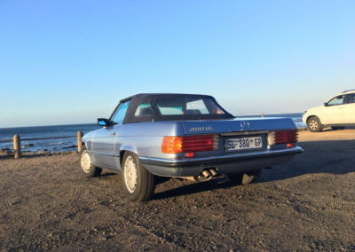 Mercedes 300SL 1984 Cabriolet Metallic Blue AS-4
