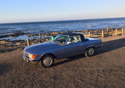 Mercedes 300SL 1984 Cabriolet Metallic Blue AS-6