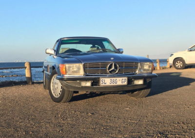 Mercedes 300SL 1984 Cabriolet Metallic Blue AS-9