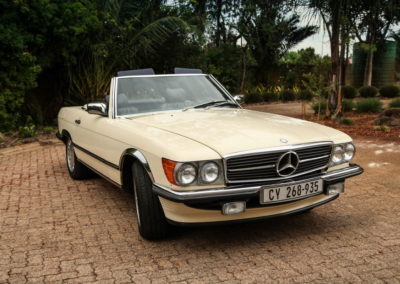 Mercedes 300SL 1987, Convertible