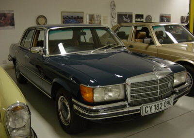 Mercedes 350 SE 1974 Sedan Dark Blue AS
