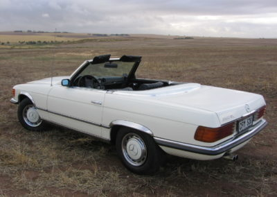 Mercedes 350SL 1972 Cabriolet White AS 1