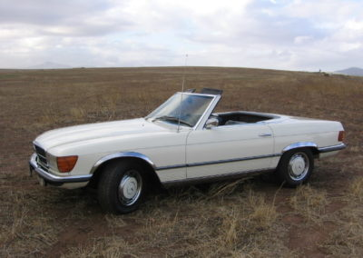 Mercedes 350SL 1972 Cabriolet White AS 3