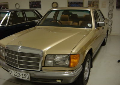 Mercedes 380 SE 1984 Gold AS