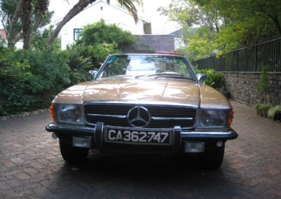 Mercedes 450SL 1975 Convertible Gold AS 1