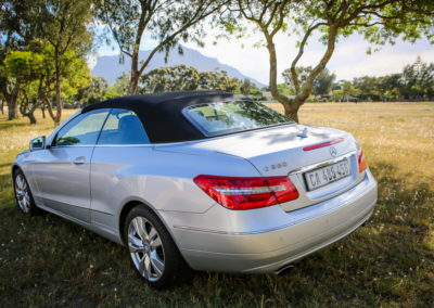 Mercedes E350 Cabriolet 2012 silver AS-006