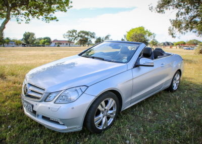 Mercedes E350 Cabriolet 2012 silver AS-009
