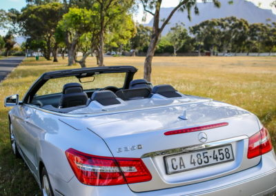 Mercedes E350 Cabriolet 2012 silver AS-018