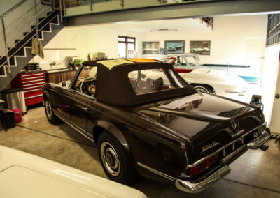 Mercedes Pagoda 280SL Convertible Brown AS-1