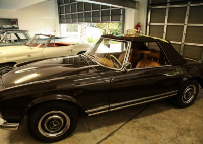 Mercedes Pagoda 280SL Convertible Brown AS-3