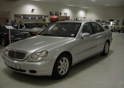 Mercedes S Class 1999 Silver AS 1