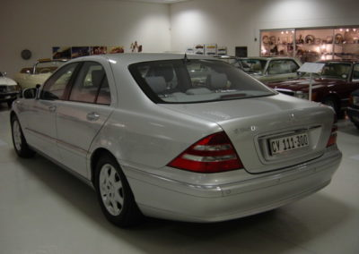 Mercedes S Class 1999 Silver AS 2