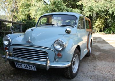 "Morris Minor 1972, Traveller ""Sophie"""