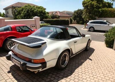 Porsche 911 Targa 1979 Cabriolet White AS 2