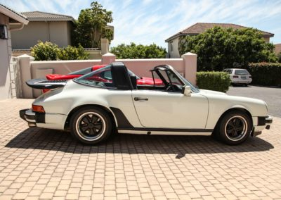 Porsche 911 Targa 1979 Cabriolet White AS 3