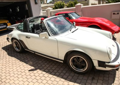Porsche 911 Targa 1979 Cabriolet White AS 4