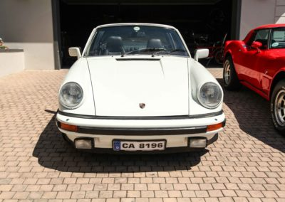 Porsche 911 Targa 1979 Cabriolet White AS 6