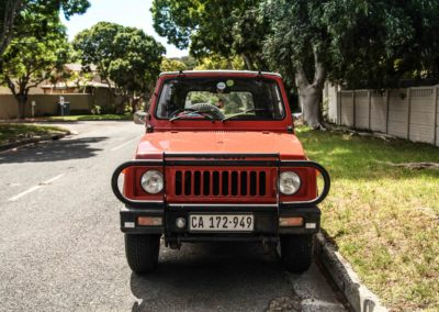 Suzuki SUV 1984 SJ410 Orange & White w detachable roof AS 3