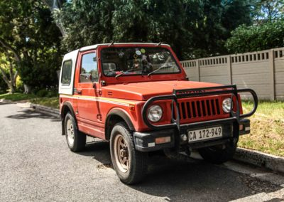 Suzuki SUV 1984 SJ410 Orange & White w detachable roof AS 4