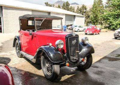 Austin 7 1936 Convertible Red AS 2018-1
