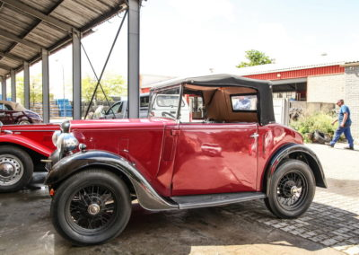 Austin 7 1936 Convertible Red AS 2018-2