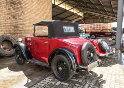 Austin 7 1936 Convertible Red AS 2018-3