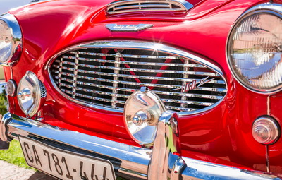 Austin Healey 1958 Convertible Red AS 2018-1