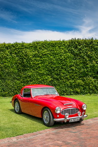 Austin Healey 1958 Convertible Red AS 2018-2