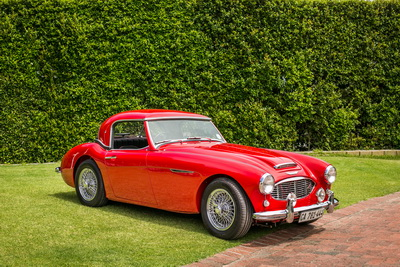 Austin Healey 1958 Convertible Red AS 2018-8