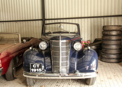 Chev Roadster 1938 Navy Blue w dickie seat AS-1