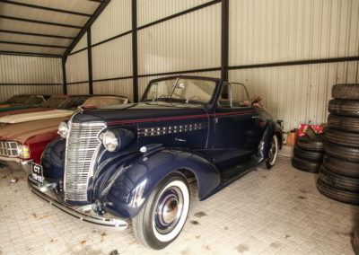 Chev Roadster 1938 Navy Blue w dickie seat AS-2