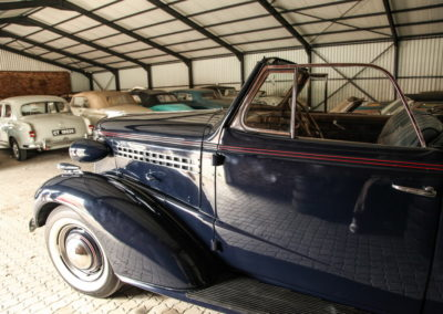 Chev Roadster 1938 Navy Blue w dickie seat AS-5