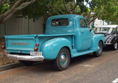 Chevy Pickup 1948 Blue AS-2